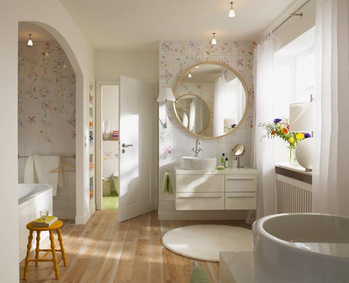 Badezimmer design fliesen